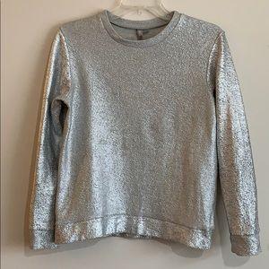 ASOS - size 2, silver sweatshirt